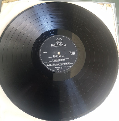 the beatles - beatles for sale (gatefold) - vinilo lp