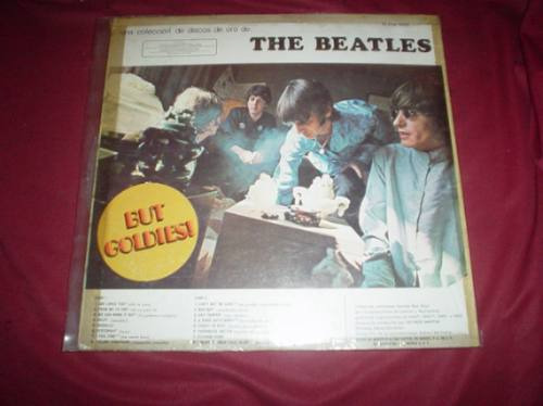 the beatles but goldies! sello rosa  p 1967