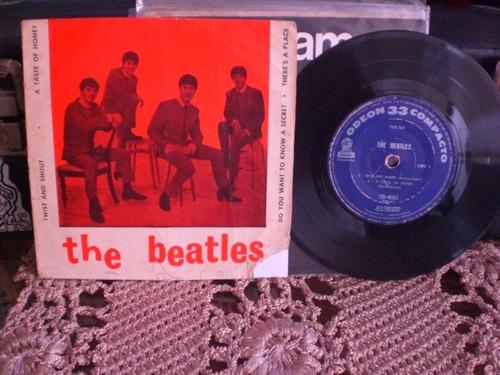 the beatles compacto duplo 1964 twist and shout nac disco: c