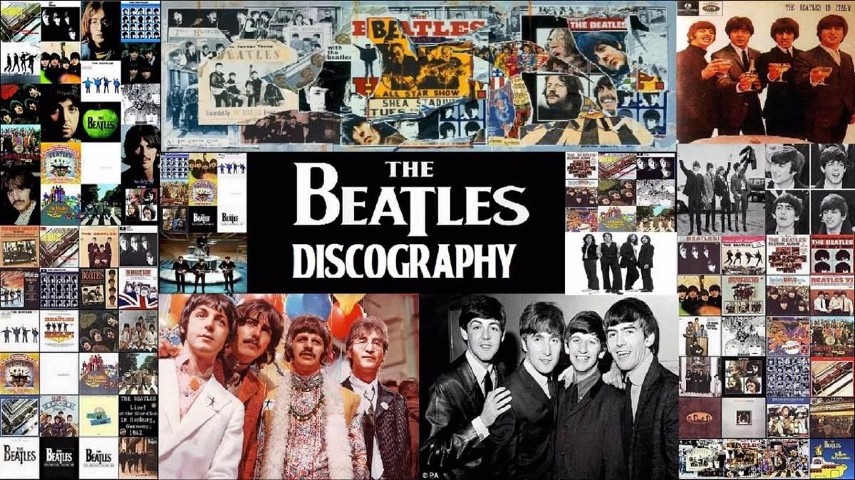 toda a discografia dos beatles