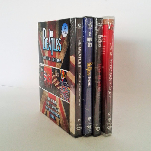 the beatles edicion especial conciertos boxset dvd