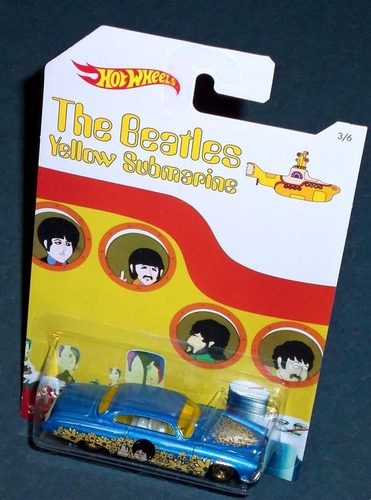 the beatles fishd n chipd hot wheels t6