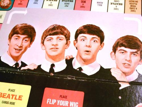 the beatles flip your wig tablero juego mesa original 1964