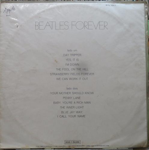 the beatles forever  lp apple 1972 capa sanduiche stereo