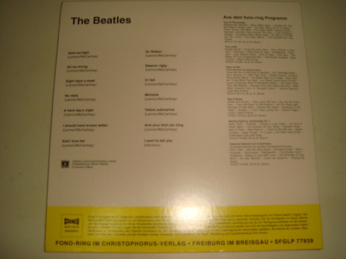 the beatles great hits limited edition german cd mini lp