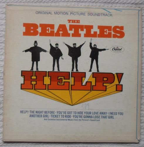 the beatles - help! (1ra. ed. u s a 1965 mono)