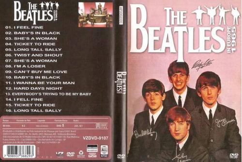 the beatles in europe 1995 dvd