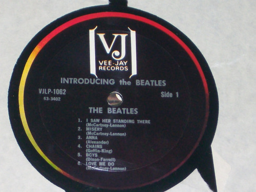 the beatles - introducing the beatles lp importado