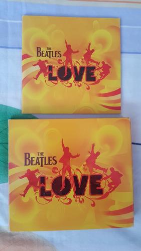 the beatles love  dvd importado