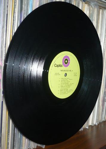 the beatles lp nal sello verde vol 4 yea yea yea con celofan