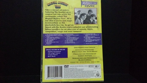 the beatles magical mistery tour dvd