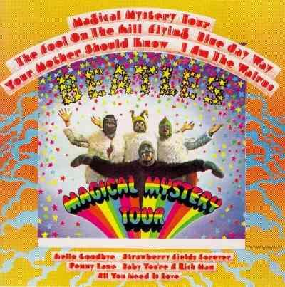 the beatles -  magical mystery tour stereo lp c/encarte