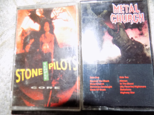 the beatles, metal church. stone temple pilots, cassettes im