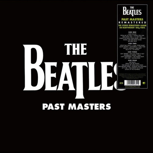 the beatles - past masters - vinilo doble nuevo