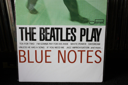 the beatles play blue notes importado raro lp !!!!