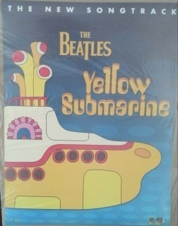 the beatles poster original usa yellow submarine 1998