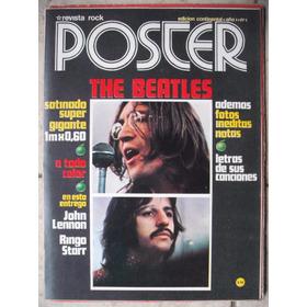 The Beatles Revista Rock N°1 Poster Nueva Sin Uso
