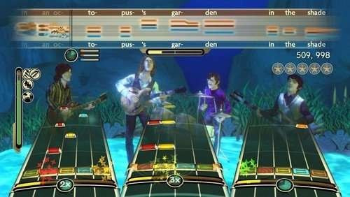the beatles: rock band (juego) - nintendo wii