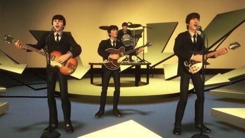 the beatles: rock band (solo juego) - nintendo wii