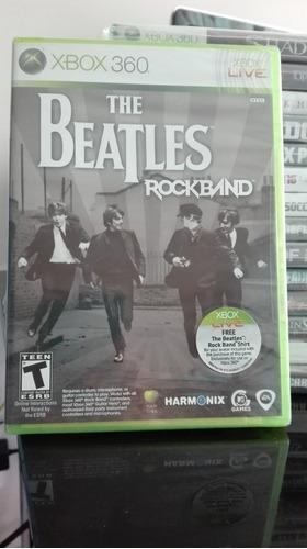 the beatles rock band xbox 360 nuevo sellado
