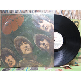 The Beatles Rubber Soul  Lp Odeon Mono 1966 Capa Sanduiche