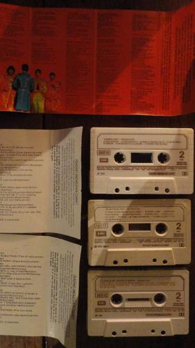 the beatles rubber soul sergeant pepper cassette