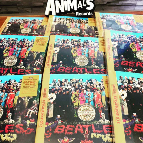 the beatles sgt pepper 50 ann deluxe 2 cd 2017 ya en stock