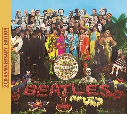 the beatles sgt pepper 50 ann deluxe 2 cd 2017 ya en stock
