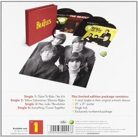 The Beatles Singles Box Set 4 Vinilos7¨ Imp.nuevo En Stock