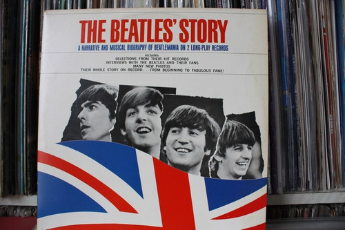 the beatles story lp duplo