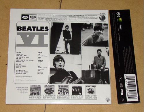 the beatles the us albums beatles vi cd mini lp argentino
