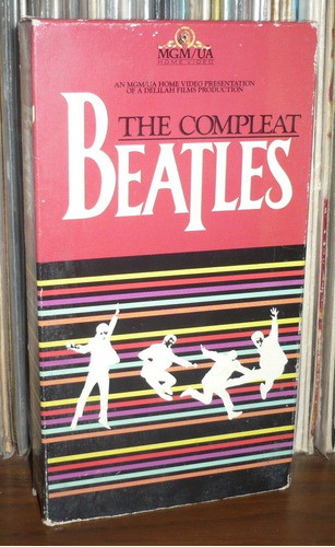 the beatles vhs the complete beatles