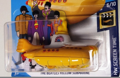 the beatles yellow submarine hot wheels 2018 26/365