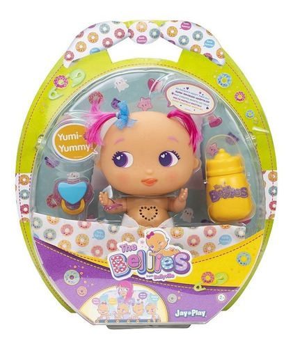 the bellies bellyville bebe interactiva yumi-yummy/bobby-bo