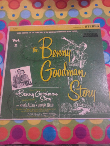 the benny goodman story lp 1952. importado usa r