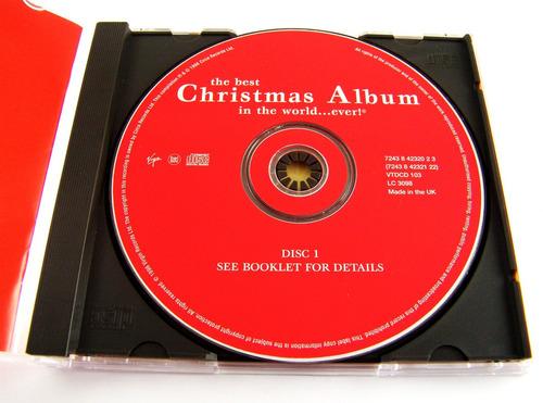The Best Christmas Album In The World Ever Cd Doble Uk 1996 - $ 299.00 en Mercado Libre