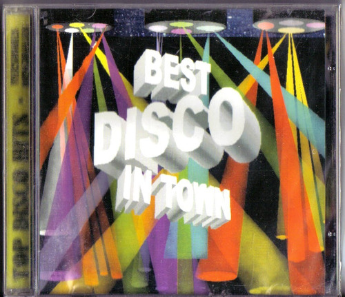 the best disco in town cd descontinuado nuevo, sellado.  hwo