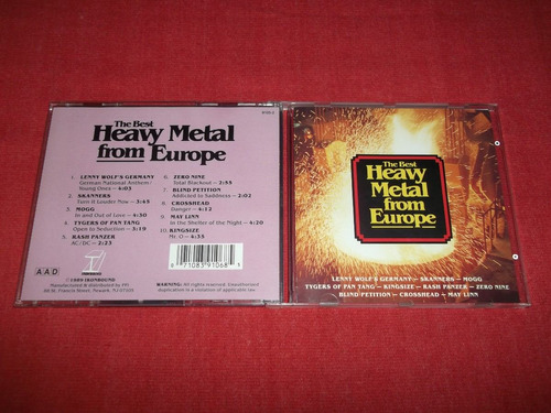 the best heavy metal from europe - cd imp ed 1989 mdisk