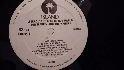 the best of bob marley lp vinilo reggae