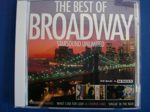 the best of broadway stage&screen cd semnvo 1a ed 2002 canad