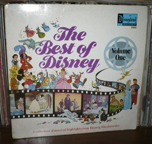 the best of disney lp volume one