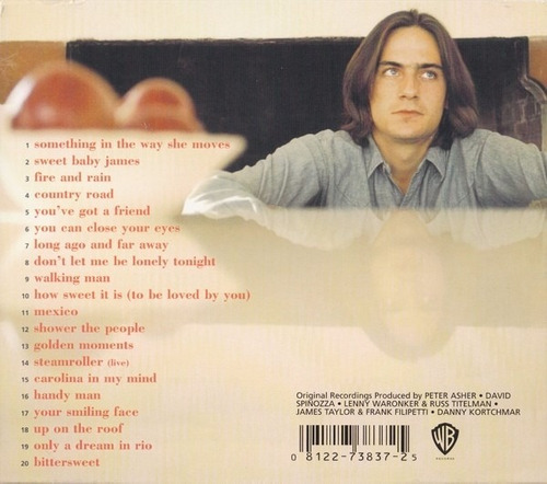 the best of james taylor cd seminuevo 1ra ed 2003 usa