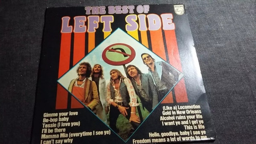 the best of left side lp vinilo rock