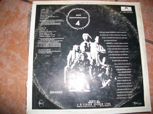the best of mandrill, antigua música pop en lp, buen estado
