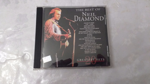the best of neil diamond cd origl c/nuevo