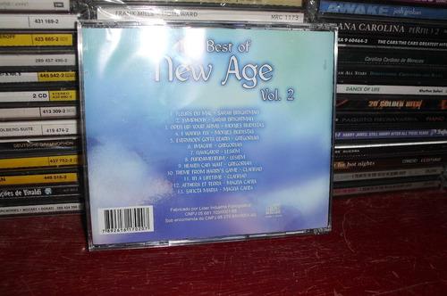 the best of new age - vol. 2 - cd nacional novo