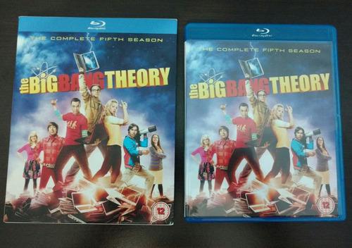 the big bang theory 5 temporada bluray blu ray