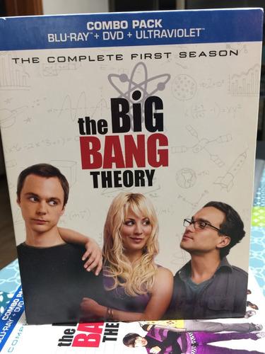 the big bang theory bluray nuevos ( temporada 1 completa)