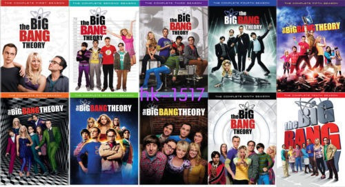 the big bang theory serie tdv
