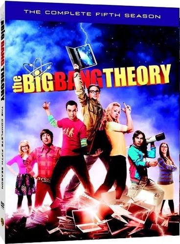 the big bang theory temporada 5 dvd original nueva
